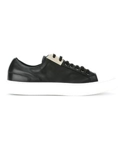 Neil Barrett | Lace-Up Sneakers 42 Leather/Rubber/Cotton