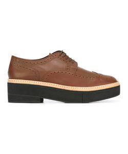 Robert Clergerie | Safel Platform Brogues 35 Leather/Nubuck Leather/Rubber