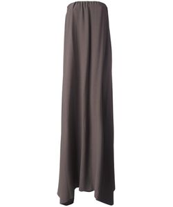DUSAN | Strapless Gown Small Viscose