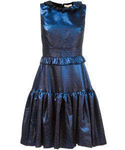 Maria Lucia Hohan | Ruffled Flare Dress 38 Acrylic/Polyester/Nylon/Spandex/Elastane
