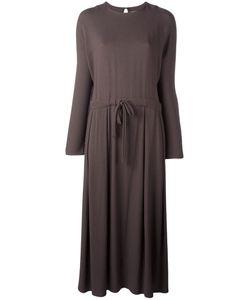 DUSAN | Drawstring Waist Dress Small Viscose