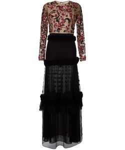 Zuhair Murad | Embroidery Dress 40 Polyamide/Silk/Acetate/Spandex/Elastane