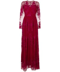Zuhair Murad | Lace Mermaid Gown 42 Silk/Polyester