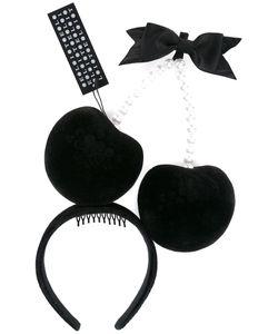 PIERS ATKINSON | Hessa Hyper-Cherries Headband Polyester/Plastic
