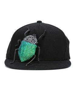 PIERS ATKINSON | Swarovski Scarab Bug Cap Cotton/Plastic