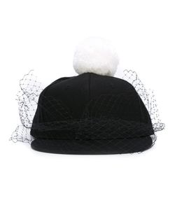 PIERS ATKINSON | Pompom Veil Cap Cotton/Polyester/Wool