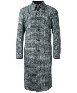 LOVELESS | Plaid Mid Coat 3 Lambs Wool/Acrylic/Polyester/Nylon