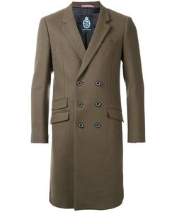 GUILD PRIME | Double-Breasted Mid Coat 3 Lambs Wool