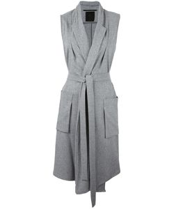 Lost & Found Ria Dunn | Sleeveless Belted Coat Small