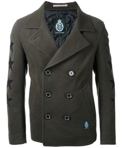 GUILD PRIME | Stars Motif Double-Breasted Coat 1 Polyester/Wool