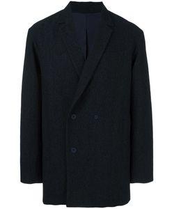 Qasimi   Double Breasted Blazer Small Cupro/Cotton/Wool/Spandex/Elastane