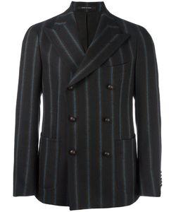 Tagliatore | Pinstripe Double Breasted Jacket 50 Virgin Wool/Cupro