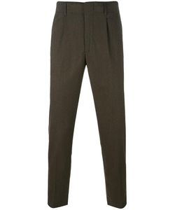 Dondup | Tailored Tapered Trousers 33 Virgin Wool/Spandex/Elastane