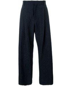 Qasimi   Wide-Legged Long Trousers Small Cotton/Spandex/Elastane/Wool