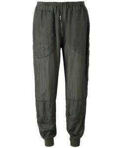 Katharine E Hamnett | Katharine Hamnett Elasticated Trousers Small Silk