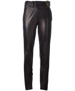 Saint Laurent | Yves Vintage Lambskin Trousers 38
