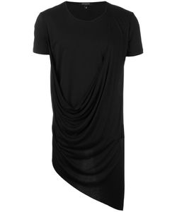Unconditional   Asymmetric Drape T-Shirt Xs Rayon/Cotton