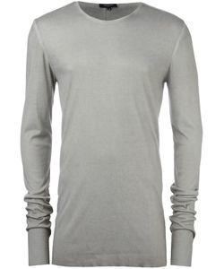 Unconditional   Back Seam Jumper Xl Rayon/Silk/Cashmere