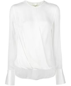 Rag & Bone | Draped Blouse Medium Silk