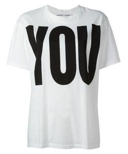 Katharine E Hamnett | Katharine Hamnett You And Me Print T-Shirt Medium