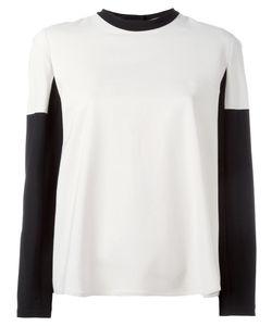 L' Autre Chose | Lautre Chose Round Neck Longsleeved T-Shirt 42 Viscose/Spandex/Elastane