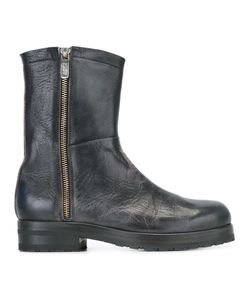 Alberto Fasciani | Distressed Boots 37 Calf Leather/Leather/Rubber