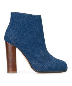Jean-Michel Cazabat | Lectoure Boots 36 Cotton/Leather