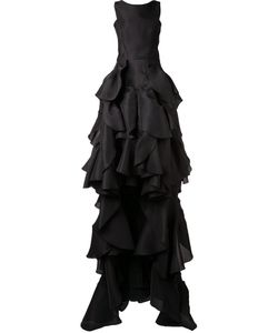 MATICEVSKI | Vanquished Ruffled Gown 10 Polyester