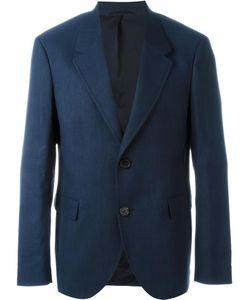 Neil Barrett   Classic Casual Blazer 52 Linen/Flax/Polyester/Spandex/Elastane/Polyamide