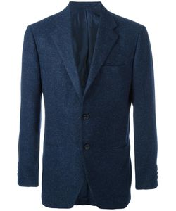 Kiton | Two Button Blazer 52 Wool/Cotton/Cashmere/Cupro