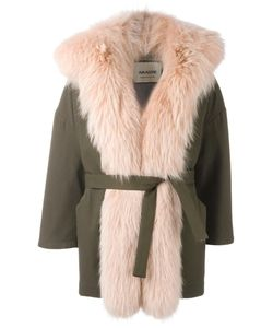 AVA ADORE | Fur Trim Coat 40 Wool/Polyacrylic/Cotton/Racoon Fur