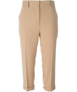 Alberto Biani | Tailored Cropped Trousers 44 Polyester/Triacetate