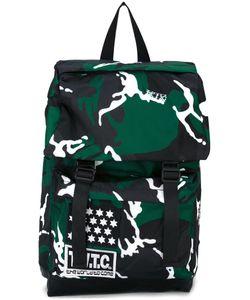Ktz | Camouflage Print Backpack Nylon