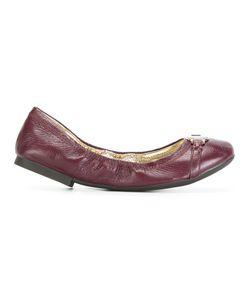Lauren Ralph Lauren | Round Toe Ballerinas 39 Leather/Rubber