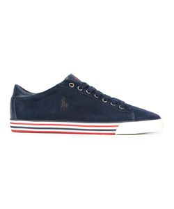 Polo Ralph Lauren   Lace-Up Sneakers 44 Suede/Polyurethane/Polyester/Rubber