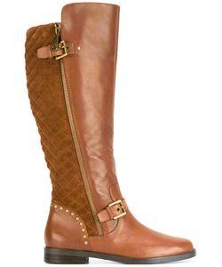 Lauren Ralph Lauren | Knee High Boots 38 Leather/Suede/Rubber