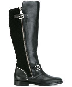 Lauren Ralph Lauren | Knee High Boots 36 Leather/Suede/Rubber
