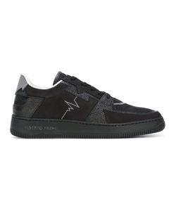 ALBERTO PREMI | Panelled Sneakers 42 Leather/Suede/Polyamide/Rubber