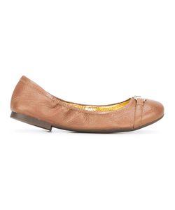 Lauren Ralph Lauren | Round Toe Ballerinas 41 Leather/Polyurethane/Rubber