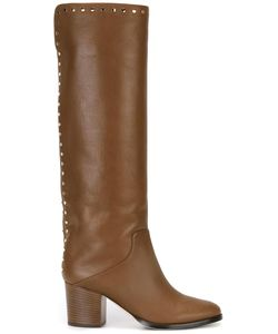 Jimmy Choo | Monroe 65 Boots 39.5 Leather/Rubber