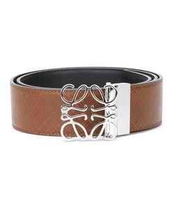 Loewe   Logo Buckle Belt 95 Calf Leather