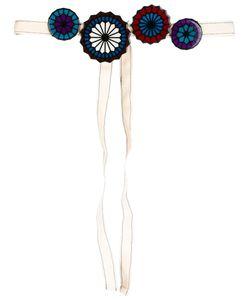Miahatami | Wheel Motif Belt Cotton/Plastic