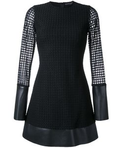 David Koma | Lace Layer Mini Dress 10 Polyimide/Viscose