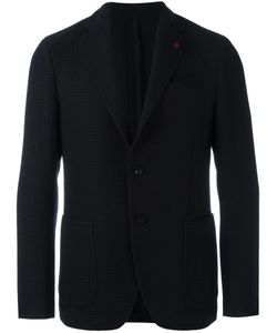 Lardini | Checked Blazer 52 Wool