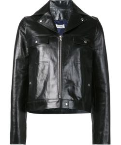 BEAU SOUCI | Zipped Jacket 36 Calf Leather