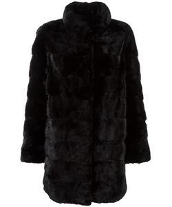 Arma | Concealed Front Fastening Coat 40 Cashmere/Mink Fur