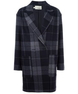 Cotélac | Checked Coat 0 Acetate/Viscose/Wool/Other Fibers