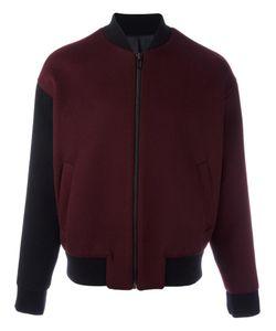 SYSTEM | Zipped Bomber Jacket Medium Wool/Polyurethane