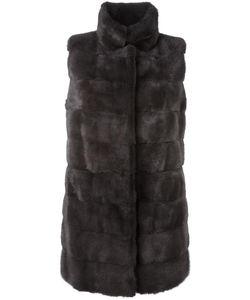 Arma | Long Length Gilet 34 Cashmere/Mink Fur