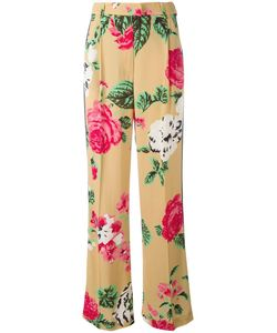 MSGM | Print Trousers 42 Viscose/Polyester